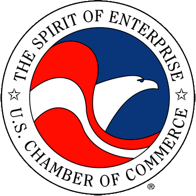 Proud member of the U.S. Chamber of Commerce